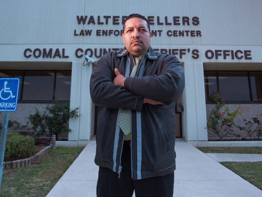 Detective Juan Guerrero of the Comal County Sheriff's