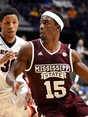Mississippi State guard I.J. Ready had ankle surgery last Wednesday.
