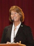 Christine Quinn, former director of the Michigan Workforce Development Agency, is seen in this undated photo provided by the Michigan Talent Investment Agency.