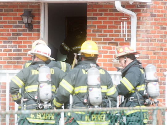 Vineland Fire responded to a working fire on the 2200 block of Sunset Avenue on Monday.