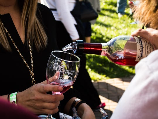 Sip your way through KDF at this wine event.