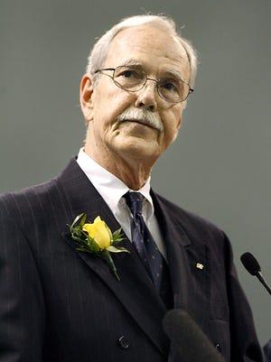 Former County Commissioner Bob Rackleff