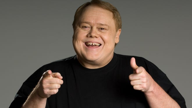 Comedian Louie Anderson is appearing today through Sunday at Off the Hook Comedy Club in North Naples.