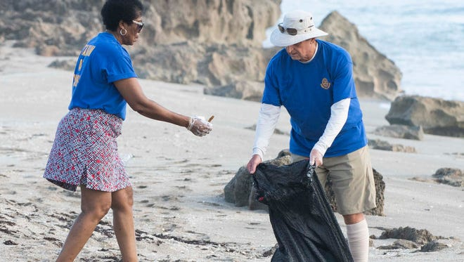 The International Coastal Cleanup is Saturday at beach locations across the Treasure Coast.