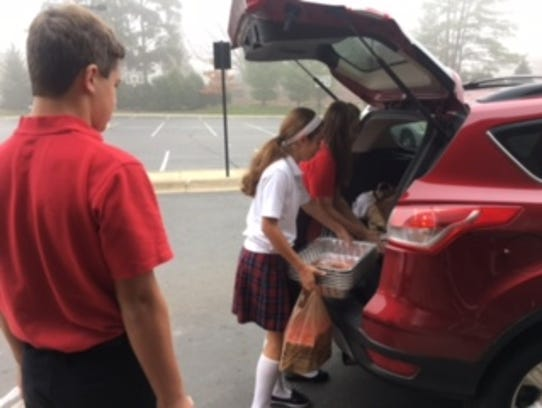 Our Lady of Victory student council raised $4,700 for
