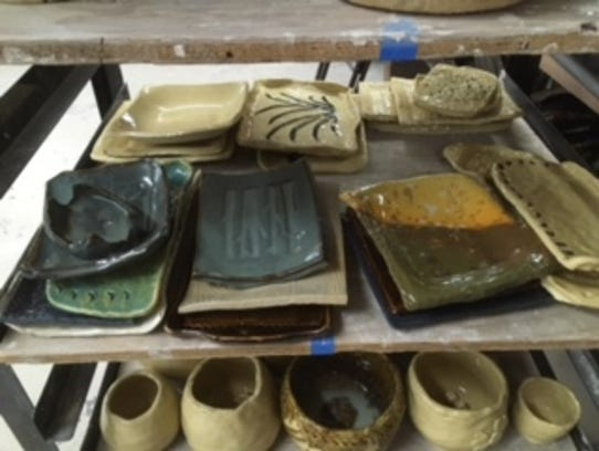 Pottery made in recognition of multicultural art styles