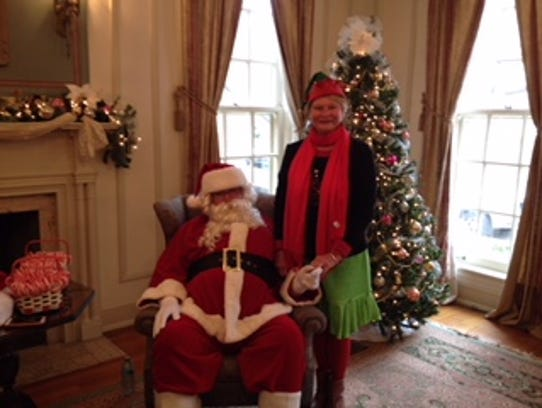 Santa Claus paid a visit during last year's Dickens