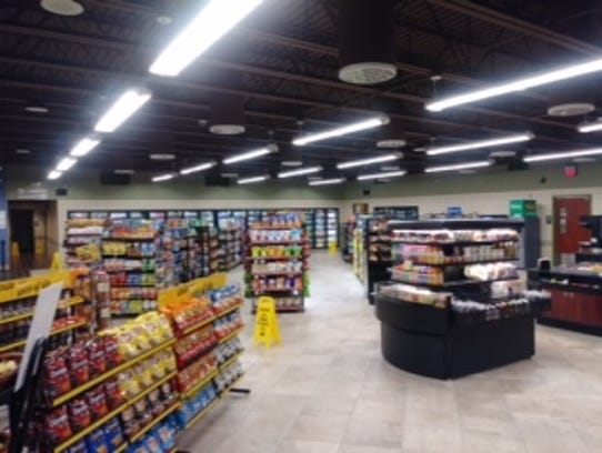 The inside of the new Rutter's in West Virginia. It