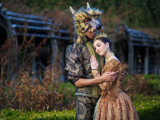 "A 2016 promotional photo for ""Beauty and the Beast"" performed by Ballet West II. Cincinnati Ballet's second company will perform the work April 6-8 at the Aronoff Center."