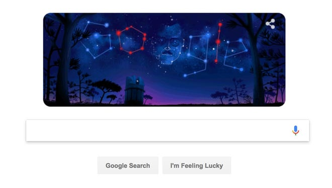 Google honors Guillermo Haro, an astronomer and the first Mexican elected to the Royal Astronomical Society.