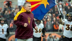 Arizona State Sun Devils head coach Todd Graham has