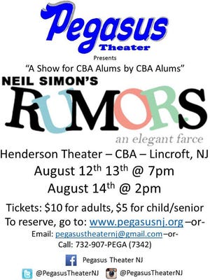 "Come see ""Rumors""!!"