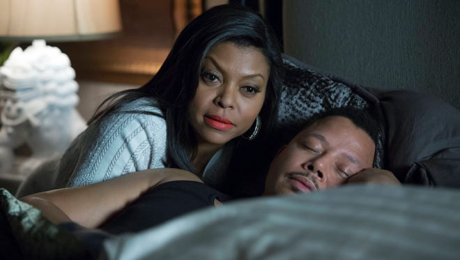 Taraji P. Henson, as Cookie, and Terrence Howard, as Lucious, in 'Empire.'