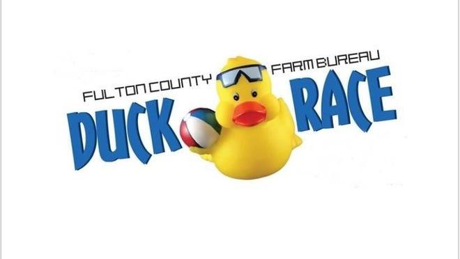 The Fulton County Farm Bureau Duck Race is this Sunday.