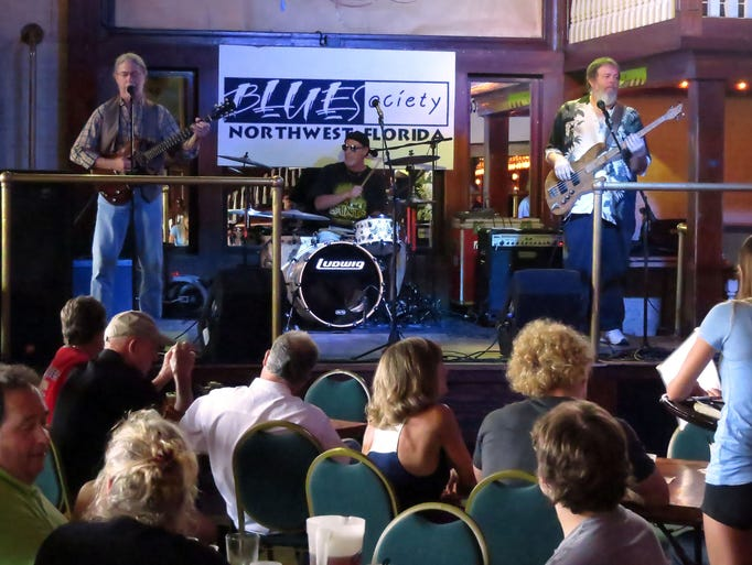 The blues band Tabascaloosa performs Saturday in Seville Quarter as part of the Regional Blues Challenge put on by the Blues Society of Northwest Florida.  The bands participating in the challenge are hoping for an expenses-paid trip to compete at the 30th International Blues Challenge in Memphis.