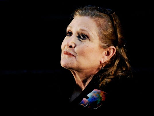 EPA (FILE) AUSTRALIA USA CARRIE FISHER ACE CINEMA AUS NS