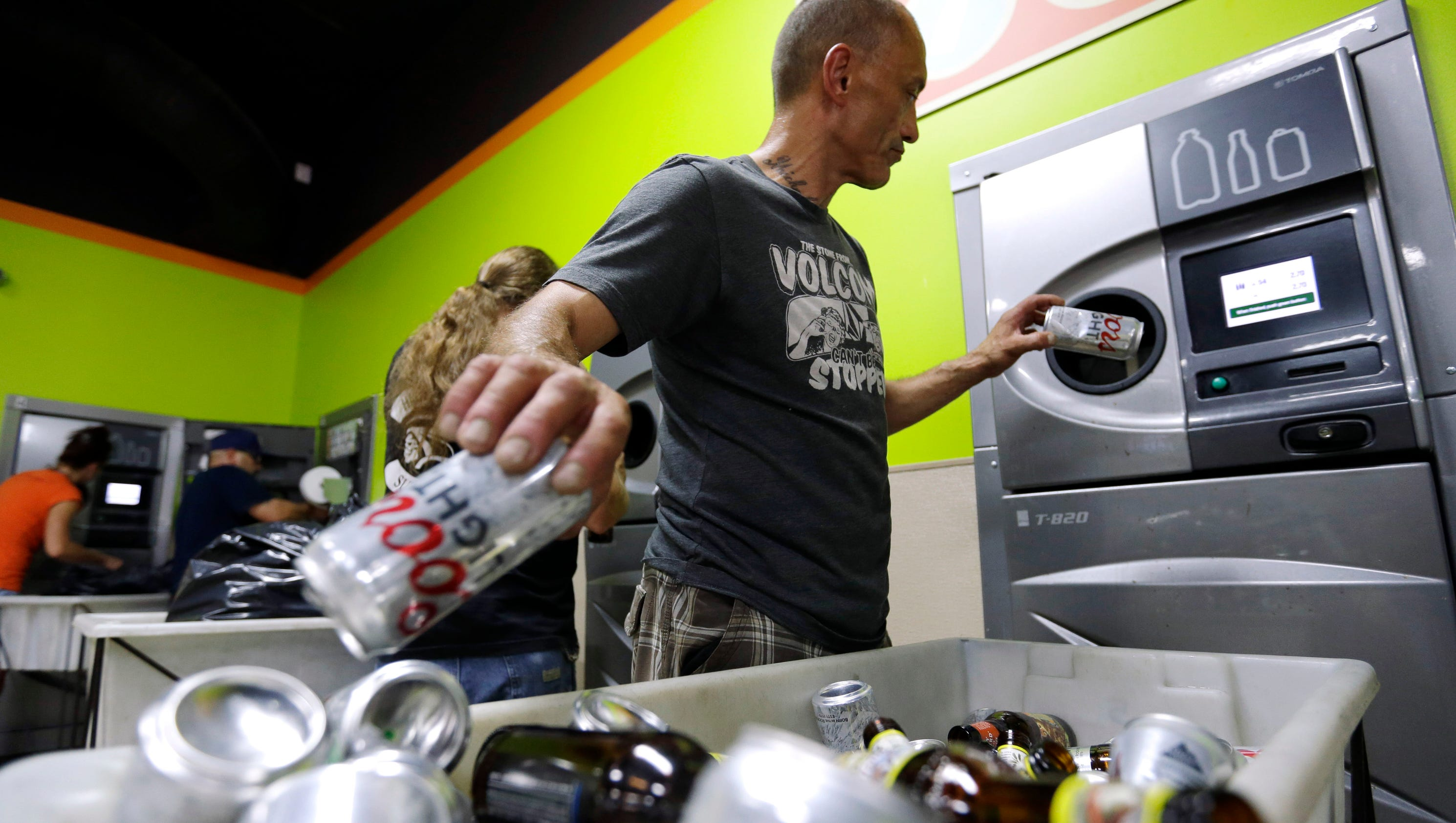 Oregon Set To Double Recycling Rate To 10 Cents A Can