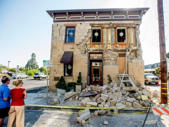 Napa Getting Back On Its Feet After Quake