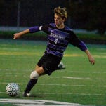 Senior Colin Beresford and his Bloomfield Hills teammates were eliminated from the Division 1 boys soccer state tournament Friday, losing to Fraser in the regional championship game.