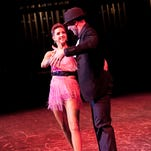 Brian Archatz with dance instructor Dawn Westberry  during the 7th Annual Life's A Dance benefiting Covenant Hospice.