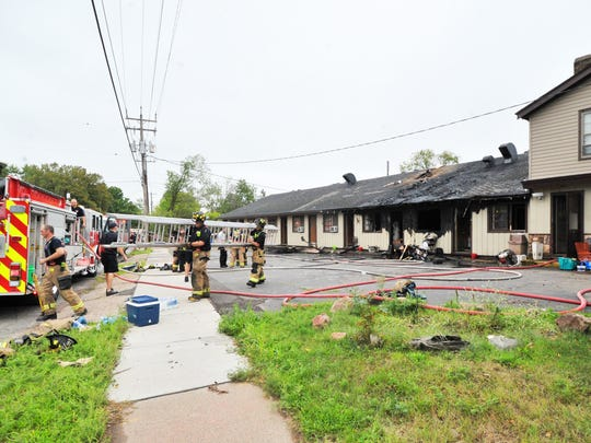 Fire damages Ponderosa Motel in August 2015 in Wausau. The Wausau Fire Department was called to the scene at 2101 Grand Ave. at about noon after receiving several 911 calls, Battalion Chief Paul Czarapata said.