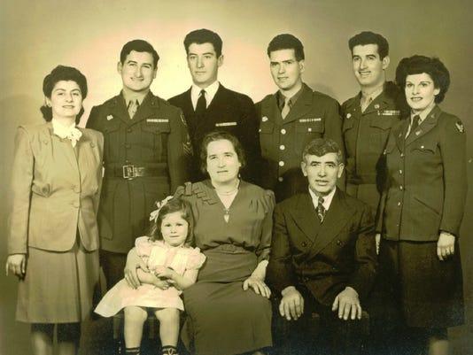 Harry Miller's family photo