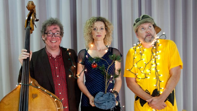 The Ornaments, from left: James Haggerty, Jen Gunderman and Martin Lynds