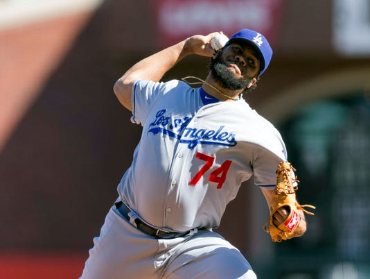 USP MLB: LOS ANGELES DODGERS AT SAN FRANCISCO GIAN S BBN USA CA