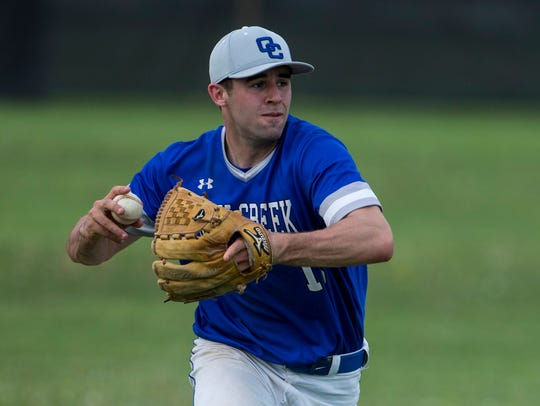 Alex Binelas of Oak Creek was honored on the USA TODAY Sports all-Wisconsin baseball team.