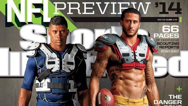 Ex-Wolf Pack star Colin Kaepernick appears on this week's SI cover.