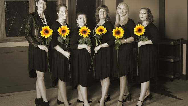 """""""Calendar Girls,"""" a comedy by Tim Firth, opening at the Somerset Valley Players in Hillsborough on Friday, April 20, is based on the true story of several women who rallied around their friend whose husband died of Lymphoma in 1998."""
