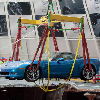 Corvette sinkhole