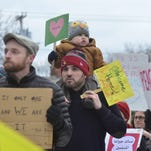 Rutland rallies for refugees after Trump's order