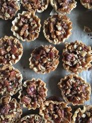 One of Michelle's favorite shots: mini pecan pies