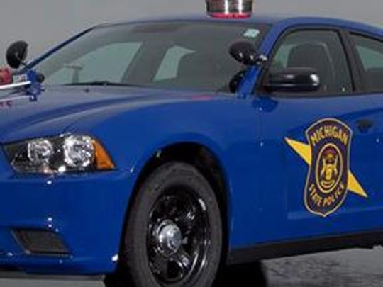 Michigan State Police car