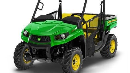Brevard softball is holding a raffle for a John Deere Gator XUV560 four-wheel drive utility vehicle.
