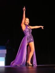 Matti-Lynn Chrisman won the talent contest during the