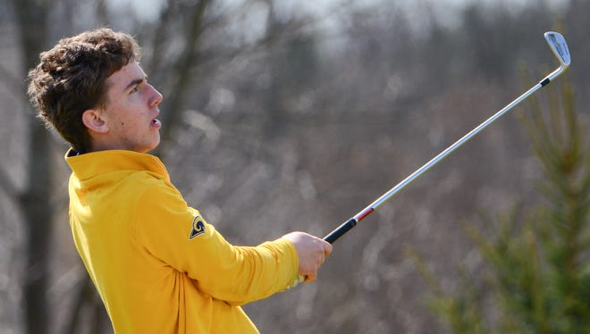 Marquette's Jack Blair is recognized for his accomplishments on the golf course this week.