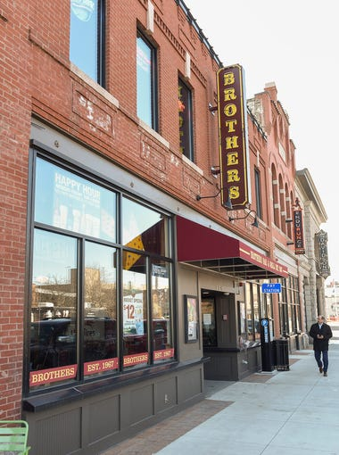 Brick & Bourbon Craft Bar & Eatery will move into the former Brothers Bar & Grill location shown Tuesday, April 17, at 119 Fifth Ave. S, with plans to open in early August.