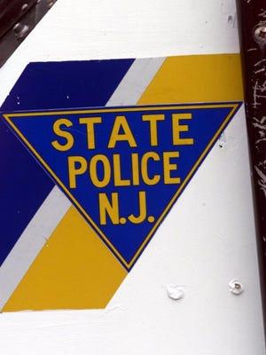 Digital Collections/IPTC (ppage1) Point Pleasant, 5/22/00. NJ State Police logo on Marine Buro patrol boat. Steve Scholfield/ staff photographer ..ss