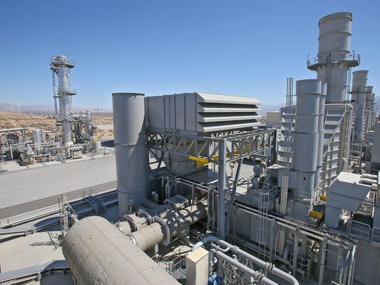 The 800-megawatt Sentinel power plant in Desert Hot Springs, which burns natural gas, is designed to provide power during blackouts and when demand exceeds supply.