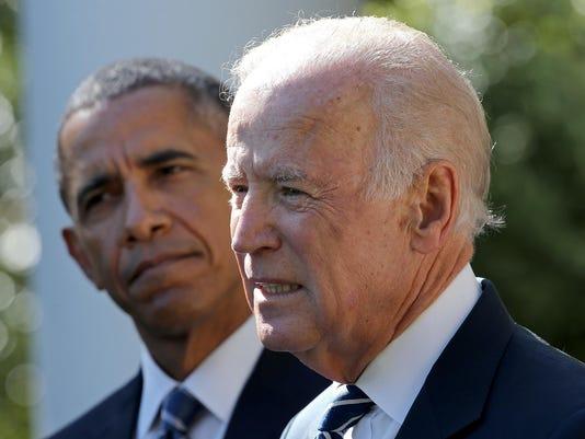 BESTPIX - Vice President Joe Biden Announces He's Not Running For President