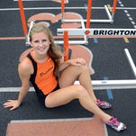 Brighton's Erin Dowd is the Girls Track and Field Athlete of the Year for the second straight season.