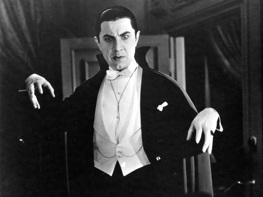 Bela Lugosi, seen here in 'Dracula,' was one of the