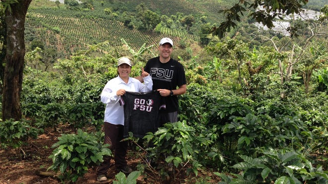 Former Florida State strength and condition coach Jon Jost, and wife Marianella own and work their coffee farm in Costa Rica.