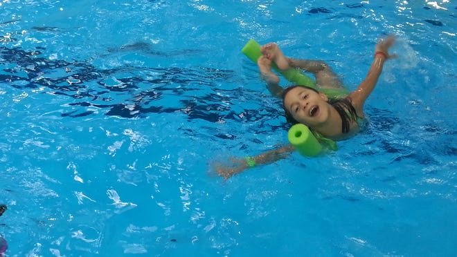 The 25th Annual Kids' College, a Pensacola State College summer program, will run June 8-Aug. 14. Pictured is a child enrolled in a swimming class.