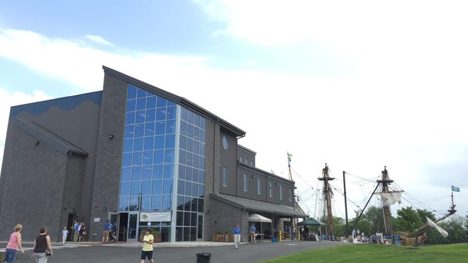 The new Copeland Maritime Center opened Sunday at the Kalmar Nyckel Shipyard on Wilmington's Seventh Street Peninsula, with free tours of the building and tall ship.