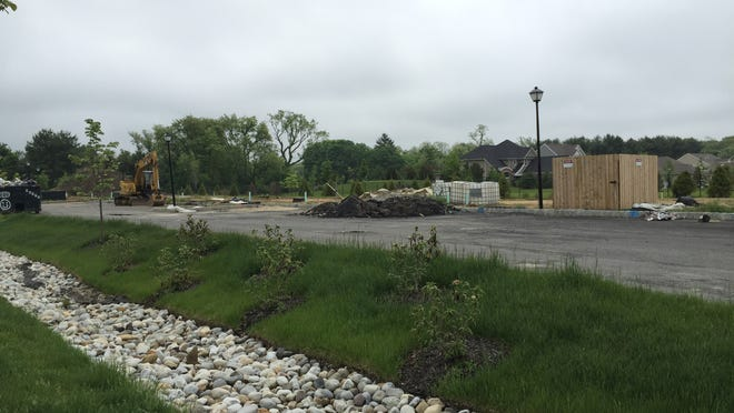 The location of the impending Shops at Equestra in Howell.