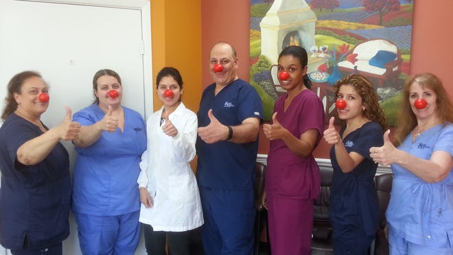 Smile Designs 101 in Somerset is participating in Red Nose Day.
