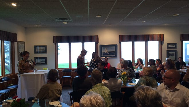 The Manitowoc Public Library Adult Literacy Awards Reception was held at the Manitowoc Yacht Club earlier this month. The recipients of the awards varied in achievement from gaining progress toward a GED to becoming a United States citizen.